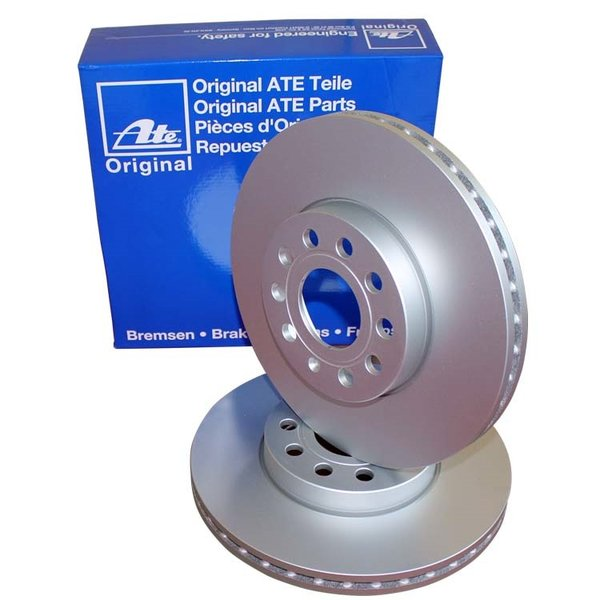 Преден спирачен диск ATE 24.0130-0116.1 336мм Volvo XC90 D5 дизел -2014